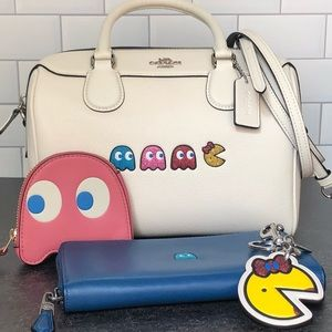 Coach PAC-MAN Bag, Wallet, Coin Purse & Bag Charm